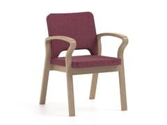 Sedia in tessuto con braccioliBLUES   HEALTH & CARE   Sedia con braccioli - PIAVAL