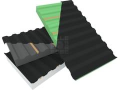 - Ventilated roof system BLUONDA WOOD - ELLE ESSE