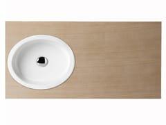 - Countertop oval washbasin BOING 45 | Washbasin - GSG Ceramic Design