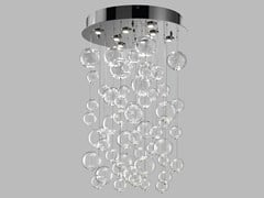 - Blown glass ceiling lamp BOLERO | Ceiling lamp - Metal Lux di Baccega R. & C.