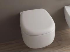 - Wall-hung ceramic toilet BONOLA | Wall-hung toilet - CERAMICA FLAMINIA