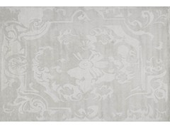 - Handmade rectangular custom rug BOURBON IVOIRY | Custom rug - EDITION BOUGAINVILLE