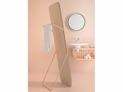 - Freestanding bathroom mirror BOWL | Freestanding mirror - INBANI