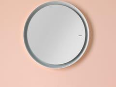 - Wall-mounted framed mirror BOWL | Wall-mounted mirror - INBANI