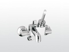 - Wall-mounted shower mixer with aerator with diverter BOX | 3267 - RUBINETTERIE STELLA