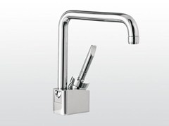 - Chrome-plated single handle washbasin mixer with adjustable spout BOX | 3226 - RUBINETTERIE STELLA