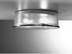 Lampada da soffitto in alluminio e vetroBOX ROTONDA | Lampada da soffitto - AILATI LIGHTS BY ZAFFERANO