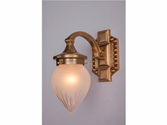 - Brass wall lamp BRATISLAVA I | Wall lamp - Patinas Lighting