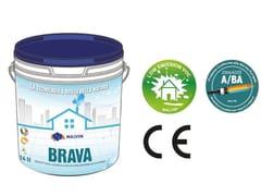 Idropittura acrilica lavabile traspiranteBRAVA - MALVIN