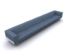- 6 seater fabric sofa BREAD | 6 seater sofa - D.M.