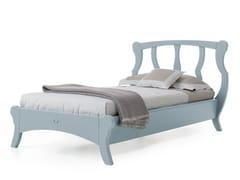 - Wooden single bed BRISTOL | Single bed - Minacciolo