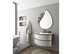 - Wall-mounted vanity unit with drawers BROADWAY B1 - LEGNOBAGNO