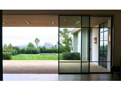 Porta-finestra scorrevole in bronzo architettonicoBRONZOFINESTRA B40 | Porta-finestra scorrevole - MOGS SRL UNIPERSONALE
