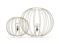 - Steel floor lamp BUBBLE GOLD   Floor lamp - MissoniHome