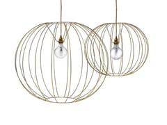 - Steel pendant lamp BUBBLE GOLD | Pendant lamp - MissoniHome
