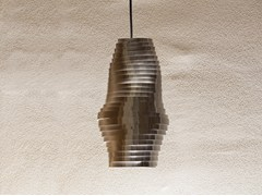 Lampada a sospensione a LED in acciaio inoxBUMBLEBEE   Lampada a sospensione - BRILLAMENTI BY HI PROJECT