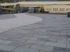 - Outdoor floor tiles with stone effect Benacus® PIETRA LAVICA - FERRARI BK