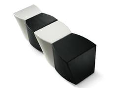 - Upholstered pouf Boom P0007 - Metalmobil