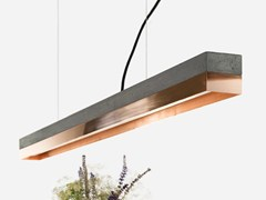 - LED direct light copper pendant lamp [C1] DARK COPPER - GANTlights