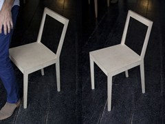 - Multi-layer wood chair C2 | Chair - MALHERBE EDITION