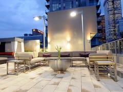 - Modular stainless steel garden sofa CABO | Modular sofa - 7OCEANS DESIGNS