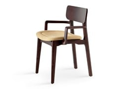 - Upholstered chair with armrests CACAO SP - CHAIRS & MORE