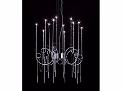 - Lampada a sospensione a LED in acciaio CALLIGRAFICO NITY 12L LED | Lampada a sospensione a LED - SP Light and Design
