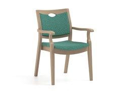 Sedia in tessuto con braccioliCALYPSO   HEALTH & CARE   Sedia con braccioli - PIAVAL