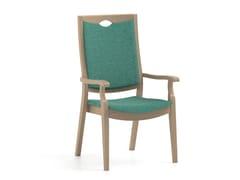 Sedia in tessuto con braccioli con schienale altoCALYPSO   HEALTH & CARE   Sedia con schienale alto - PIAVAL