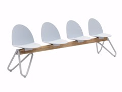 - Polypropylene beam seating CAMEL | Polypropylene beam seating - Segis