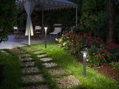 Paletto luminoso a LED in alluminioCANTHARELLUS - GOCCIA ILLUMINAZIONE