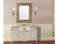 - Vanity unit with doors with drawers with mirror CAPRI CM19DC - LA BUSSOLA