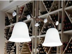 - Glass pendant lamp CARACOI | Pendant lamp - Aldo Bernardi