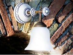 - Glass wall lamp with fixed arm CARACOI   Wall lamp - Aldo Bernardi