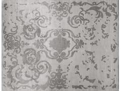 - Handmade rectangular custom rug CARDINAL VINTAGE PEARL - EDITION BOUGAINVILLE