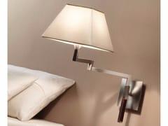 - Adjustable wall lamp with swing arm CARLOTA DOBLE ARTICULADO - BOVER Il. Luminació & Mobiliario