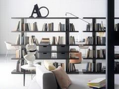 Libreria a giorno modulareCAROL | Libreria modulare - SILENIA