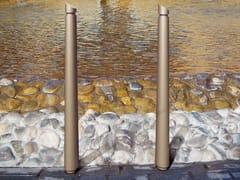Dissuasore a paletto in acciaio per cateneCARYA | Dissuasore - NERI