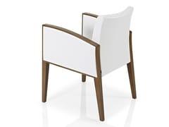 - Fabric restaurant chair with armrests CASSIS | Chair with armrests - J. MOREIRA DA SILVA & FILHOS, SA