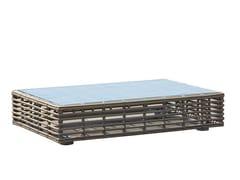 - Tavolino basso da giardino per contract CASTRIES 23224 - SKYLINE design