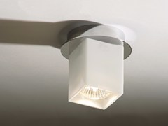 - Halogen glass ceiling lamp CEILING QUADRO - Top Light