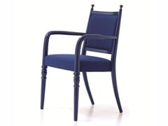 - Fabric restaurant chair with armrests CENTURY 02 - Very Wood