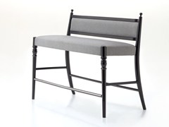 - Contemporary style upholstered beech restaurant booth CENTURY 26 H/L   Restaurant booth - Very Wood