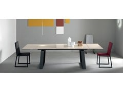 - Contemporary style extending rectangular aluminium dining table CERAM | Ceramic table - ITALY DREAM DESIGN - Kallisté