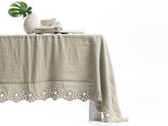 - Linen tablecloth CERCHI | Tablecloth - LA FABBRICA DEL LINO by Bergianti & Pagliani