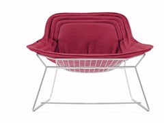 - Fabric garden armchair CHAPEAU | Armchair - Varaschin