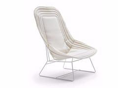 - Bergere fabric armchair CHAPEAU | Bergere armchair - Varaschin