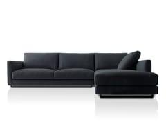 - Corner fabric sofa with chaise longue CHARME | Sofa with chaise longue - PIANCA