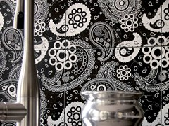 - Marble wall tiles CHARME - PAISLEY - Lithos Mosaico Italia - Lithos