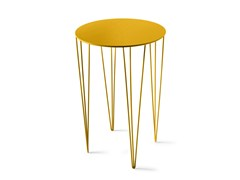 - Lacquered round high side table CHELE ROUNDED | High side table - Atipico